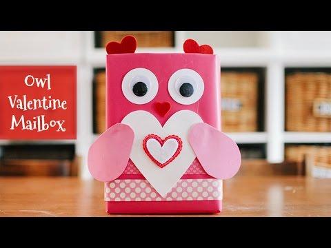Owl Valentine Mailbox