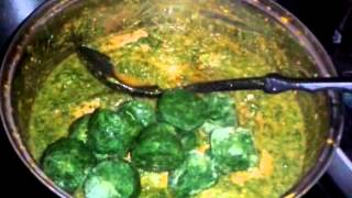 How To Make Plasas (spinach And Palm Oil Stew - Gambian Dish)