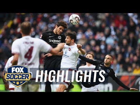 Eintracht Frankfurt vs. 1. FC Nurnberg | 2019 Bundesliga Highlights
