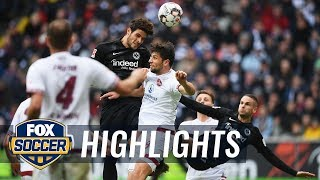 Eintracht Frankfurt vs. 1. FC Nurnberg | 2019 Bundesliga Highlights