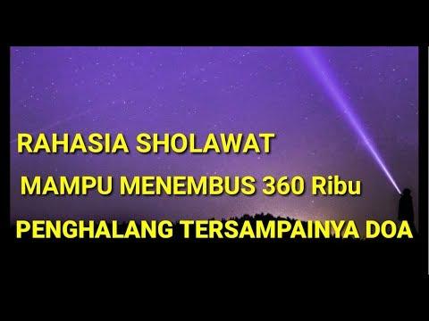 Rahasia Sholawat Yang M U Menembus 360 Ribu Penghalang Ters Ainya Doa Inspirasi Ibadah