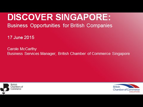 Discover Singapore Business Opportunities for British companies