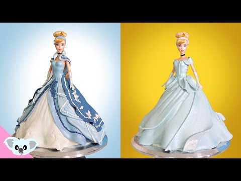 2 Cinderella Princess Doll Cake | Birthday Party| Amazing Cakes| Koalipops