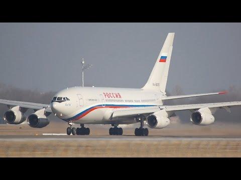 Ilyushin Il-96-300 Russia State RA-96019 departure at Munich Airport Abflug München Flughafen
