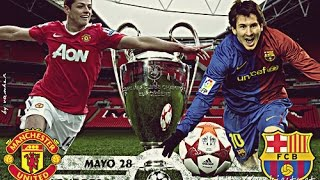 Manchester United vs Barcelona 1-3 - UCL Final 2011 - Full Highlights HD - 17/05/2017