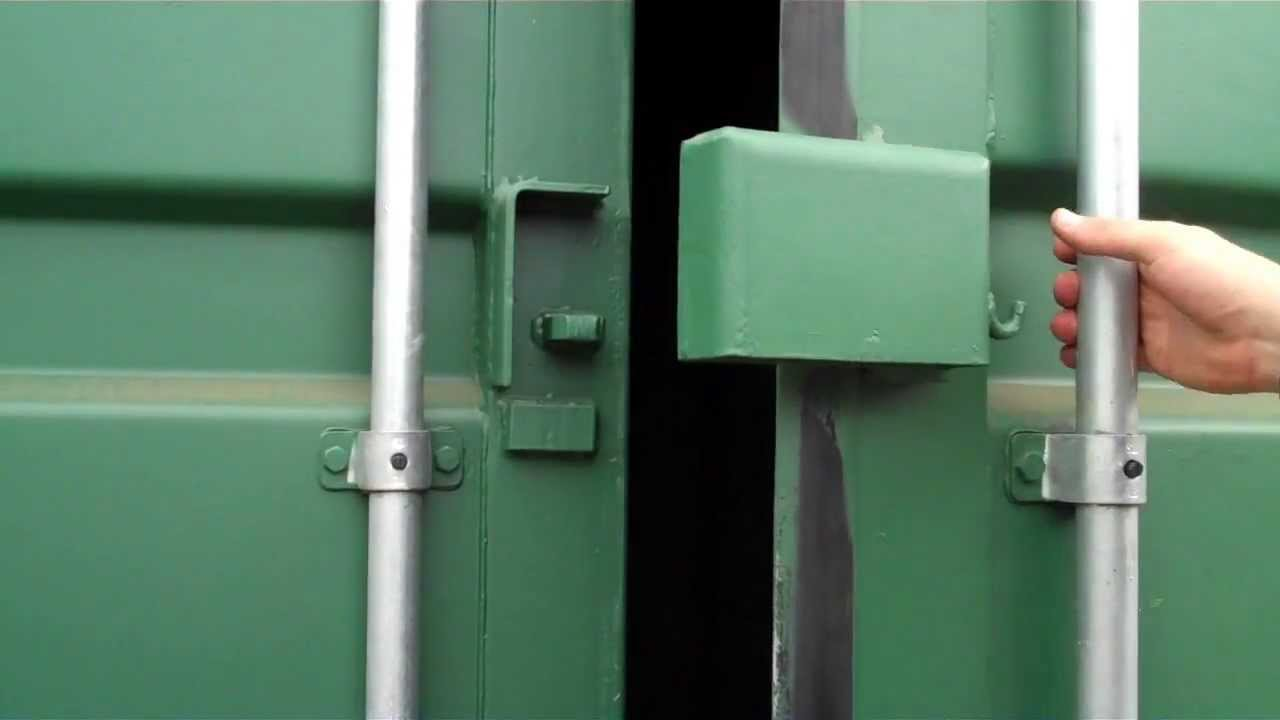Shipping Container Locking Shroud Cowl Www