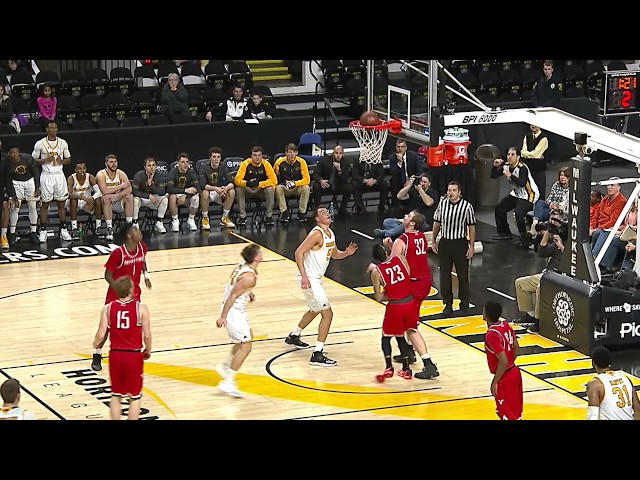 MBB: August Haas 2016-17 Highlights