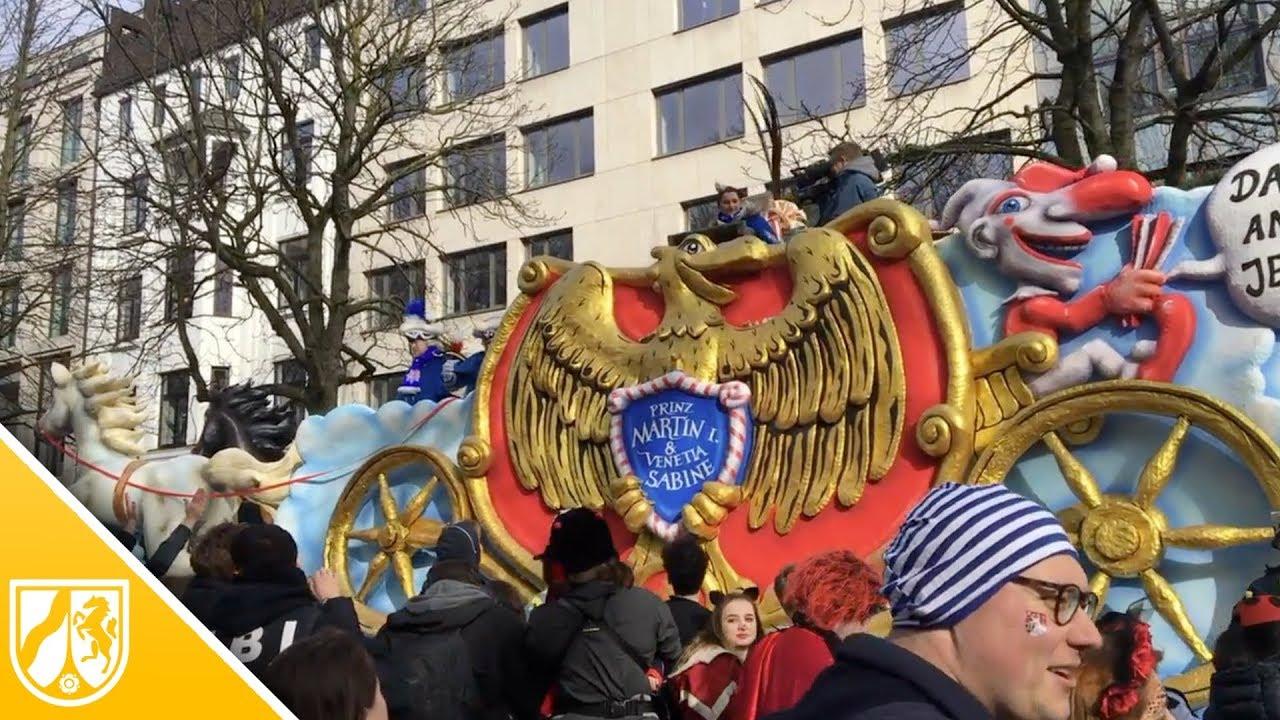 Rosenmontagszug 2019 Düsseldorf
