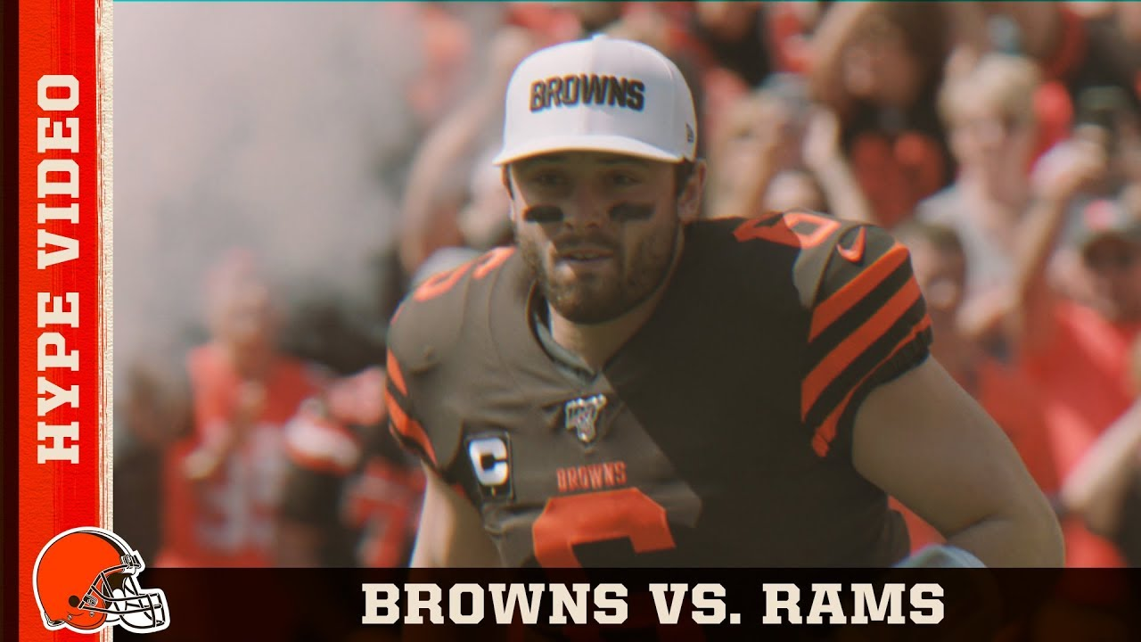 Browns Vs Rams Hype Video Week 3 Cleveland Browns