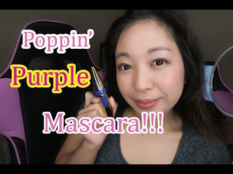 11bc39bb939 Colossal Big Shot Mascara In Poppin Purple - Shayla First Impressions