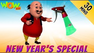 Motu Paltu | New Years special | 30 Min compilation | Wow Kidz | #1