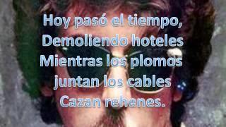 charlie garcia - demoliendo hoteles (LETRA-LYRICS)