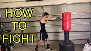 HOW TO FIGHT FΟR BEGINNERS - FIGHT BASICS