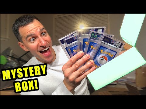 *SECRET RARE GRADED POKEMON CARDS!* Opening Pokemon BOX With TONS OF BOOSTER PACKS!