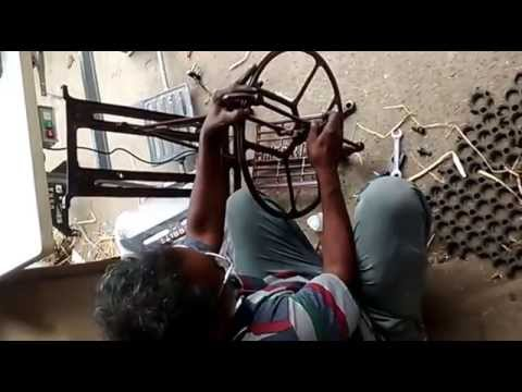 How To Assemble Sewing Machine Parts Assembling And Mechanism Part Simple How To Assemble Sewing Machine