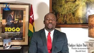 Message de nouvel an de Nouvelle Vision du Dr Aubin Kodjovi THON