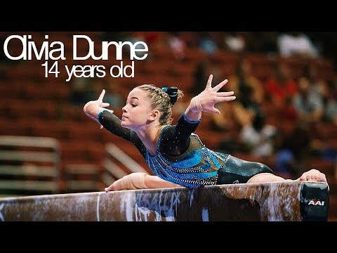 Olivia Dunne - Amazing 14 Year Old Gymnast! (Jr. Elite)