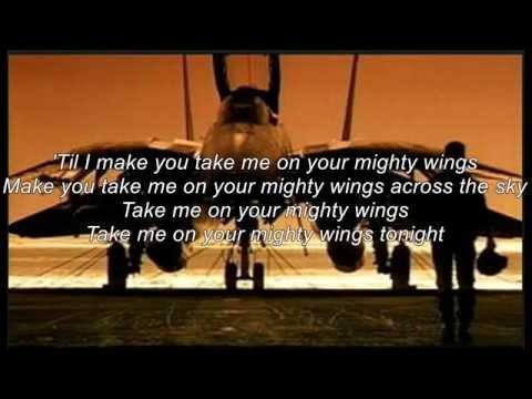 """Top Gun """"Mighty Wings"""" 歌詞付"""