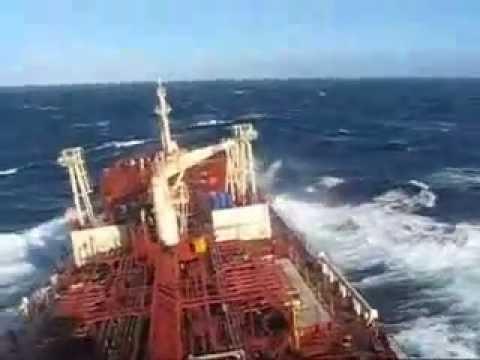 Rough Sea Tanker