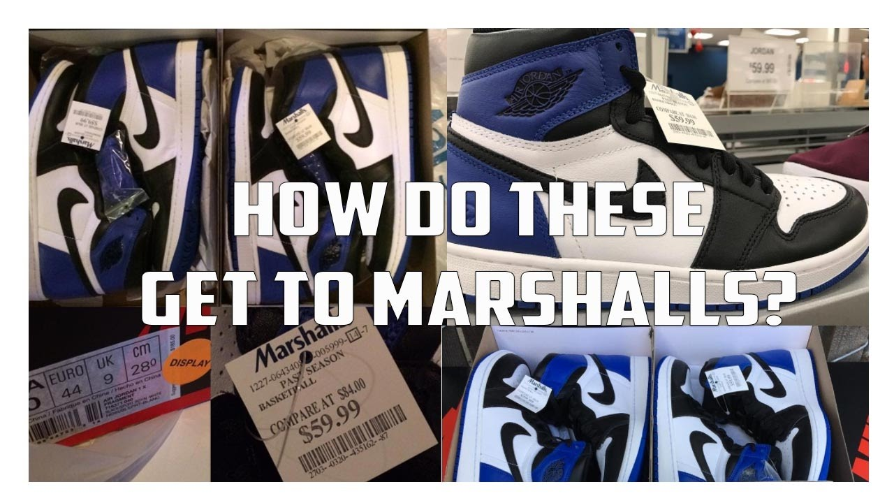 59150a92ee0242 Why Fragment Jordan 1s End Up At Marshalls - YouTube