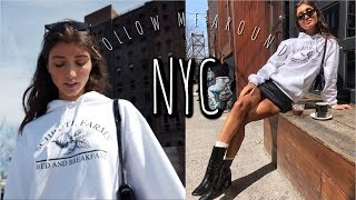 A TYPICAL DAY IN MY LIFE (follow me around NYC)