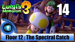 Luigi's Mansion 3 - Floor 12 : The Spectral Catch - Full Game Walkthrough Part 14