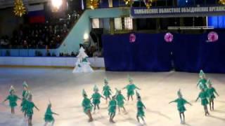 Новогоднее ледовое шоу тамбов 1