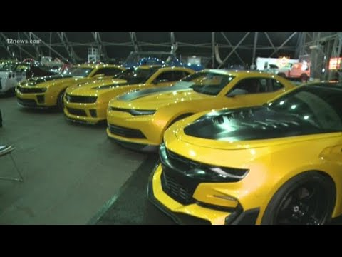 Transformers 5 Cars >> 'Transformers' Bumblebee cars for sale at Barrett-Jackson ...