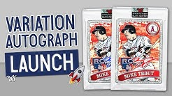 Topps Project 2020 Mike Trout Artist Auto Pre-Sale LAUNCH + Breaking Cards
