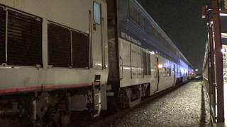 Very Late A583 & A758 Pacific Surfliner arrival & departure at Fullerton station part 3 2017-09-02