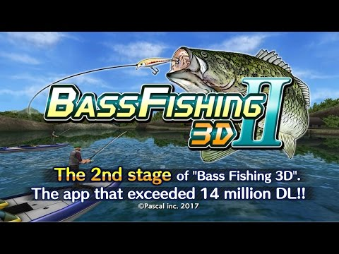 Bass Fishing 3D II Android Gameplay ᴴᴰ