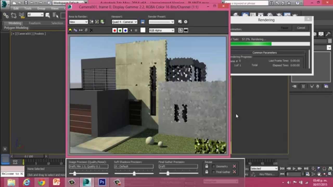 Como hacer un render en 3d max f cil y r pido youtube for Rendering 3d gratis