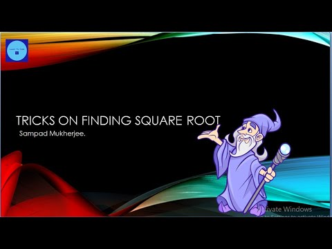 #Squareroot #LearnToCode -  Tricks For Finding Square Root | Mental Mathematics | Maths For Fun thumbnail