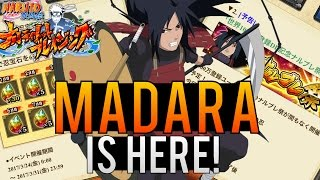 MADARA IS COMING! BLAZING FEST BANNER! 10 MILLION DOWNLOADS| NARUTO SHIPPUDEN ULTIMATE NINJA BLAZING