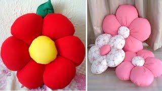 Aprenda a Fazer Lindas Almofadas de Flor