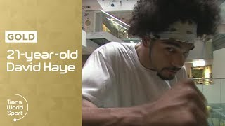 21-year-old David Haye on Trans World Sport