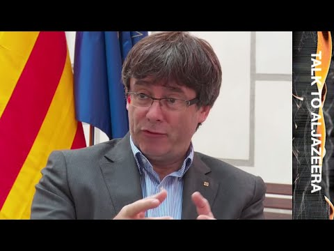 'The wish to vote is unstoppable': Carles Puigdemont - Talk to Al Jazeera