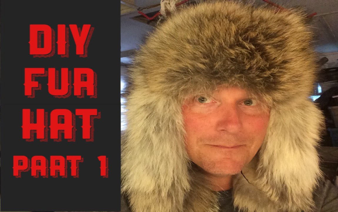 HOW TO MAKE A COYOTE FUR HAT (PART 1) - YouTube 3fa14243fde