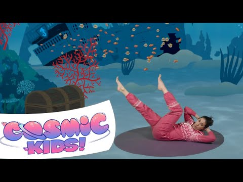 Popcorn the Dolphin | A Cosmic Kids Yoga Adventure!