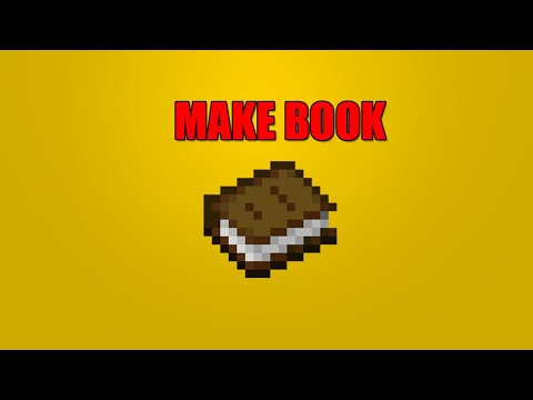 how-to-make-a-book-in-minecraft