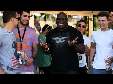 Burn Studios Residency 2012 - Episode 1/7 Feat. Carl Cox, Luciano And Nina Kraviz