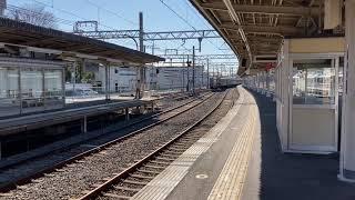 【阪急電車】桂駅 準急、特急、嵐山線到着 [Hankyu Railway] Trains arriving at Katsura station