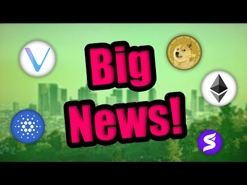 Big Things Are Happening In Cryptocurrency In May 2021! Cardano \u0026 Vechain HODLERS - BE READY!