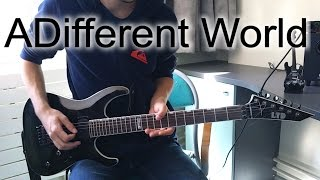 Korn - A Different World Full Guitar Cover [HD]