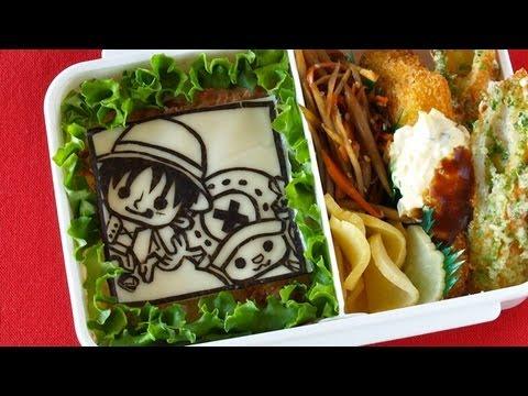 ONE PIECE Bento Lunch Box (Nori ART Kyaraben) ワンピース キャラ弁 海苔アート - OCHIKERON - CREATE EAT HAPPY