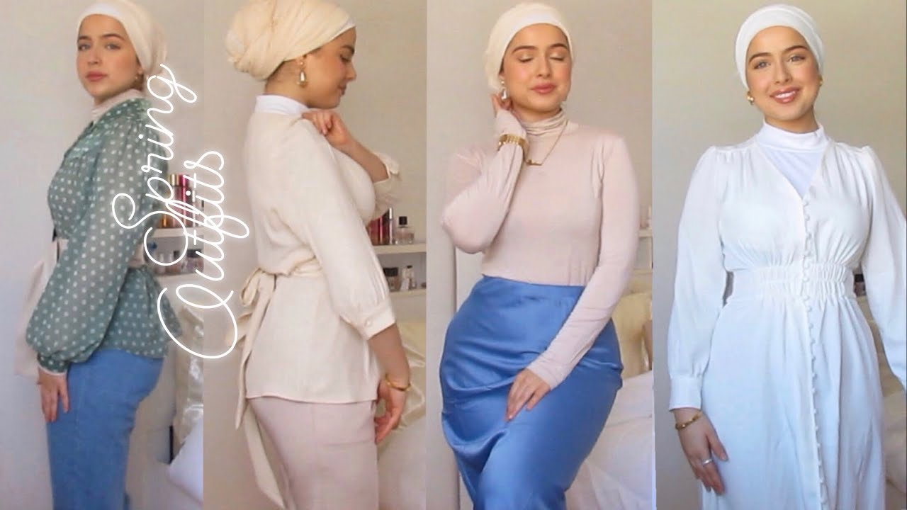 MODEST SPRING/SUMMER OUTFIT INSPO (AliExpress, shein, topshop and more).