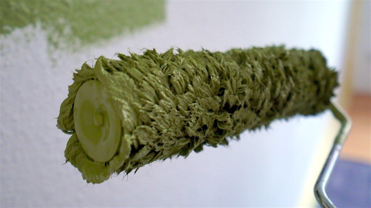 Wir streichen eine Wand grün! (Test Vlog #2) - YouTube