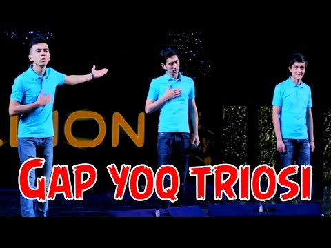 Gap yoq triosi (Million konsertidan 2014)