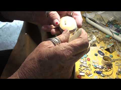 Silver soldering advanced / setting the stone part 5
