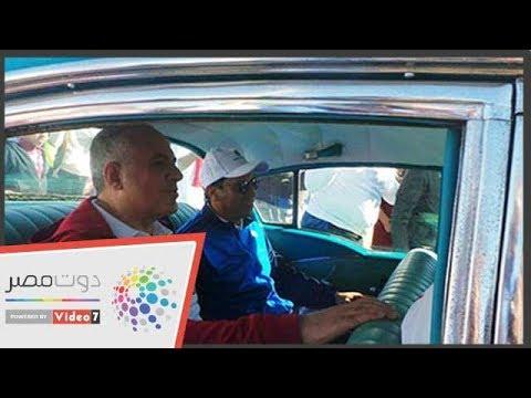 سيارة جمال عبدالناصر تشهد افتتاح متحف معدات السد العالى